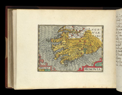 Map of Meathe, Ireland, from Atlas of the British Isles, Pieter Van Den Keere